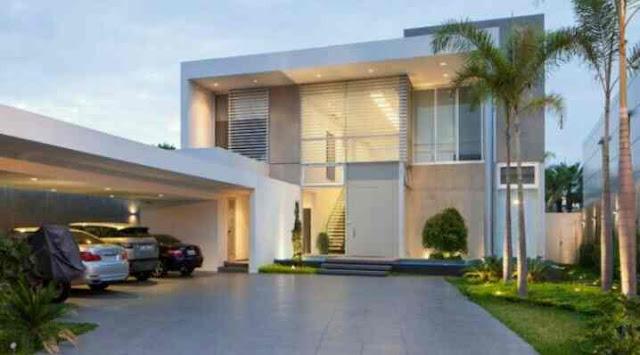 Konsep arsitektur rumah minimalis 2 lantai