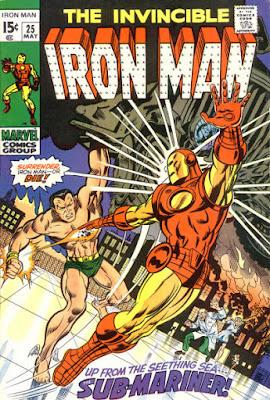 Iron Man #25, the Sub-Mariner