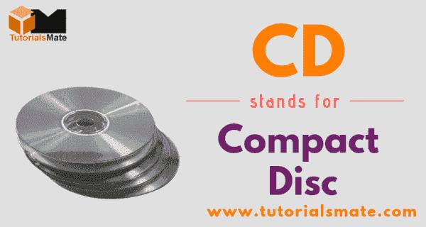 CD FuLL Form