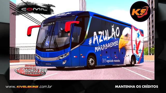 COMIL 1200 4X2 - ÁGUIA DE MARABÁ FUTEBOL CLUBE