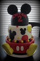 Darlin' Design Mickey Mouse Birthday Cake