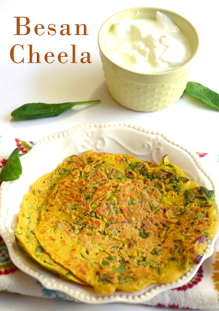 Besan Cheela Chilla Indian Breakfast Besan Puda Gram Flour Vegan Pancake Recipe
