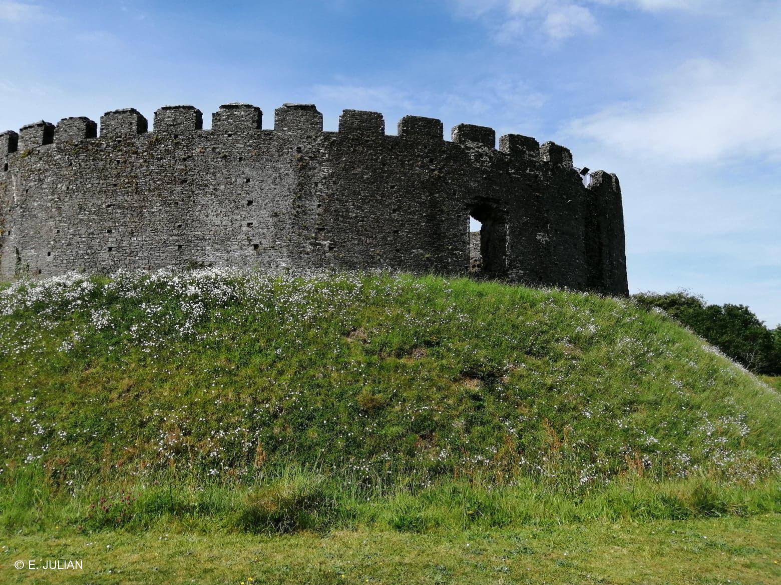 Restormel Castle just outside of Lostwithiel