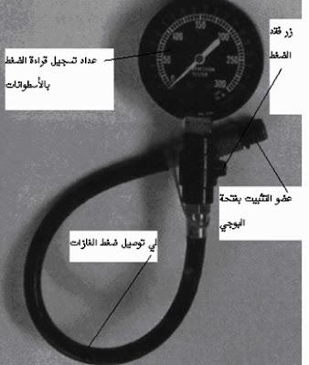 جهاز قياس ضغط الانضغاط