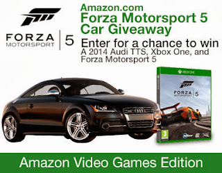 Like Amazon Video Games on Facebook and enter to win an Audi. Giveaway ends 11/18.