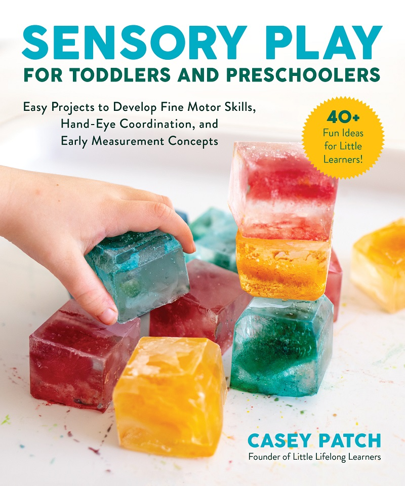 sensory play for toddlers and preschoolers by Casey Patch book review