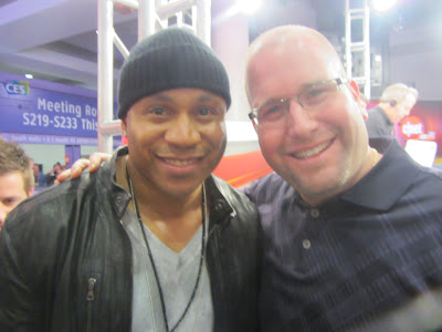 Rap Legend LL Cool J with Rabbi Jason Miller