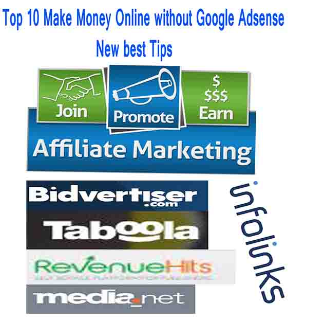 Top 10 Make Money Online without Google Adsense New best Tips | Mydigitalservices.in