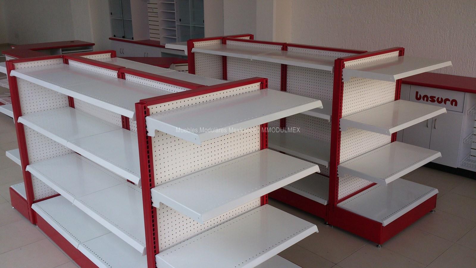 mostradores vitrinas estantes estanter a anaqueles