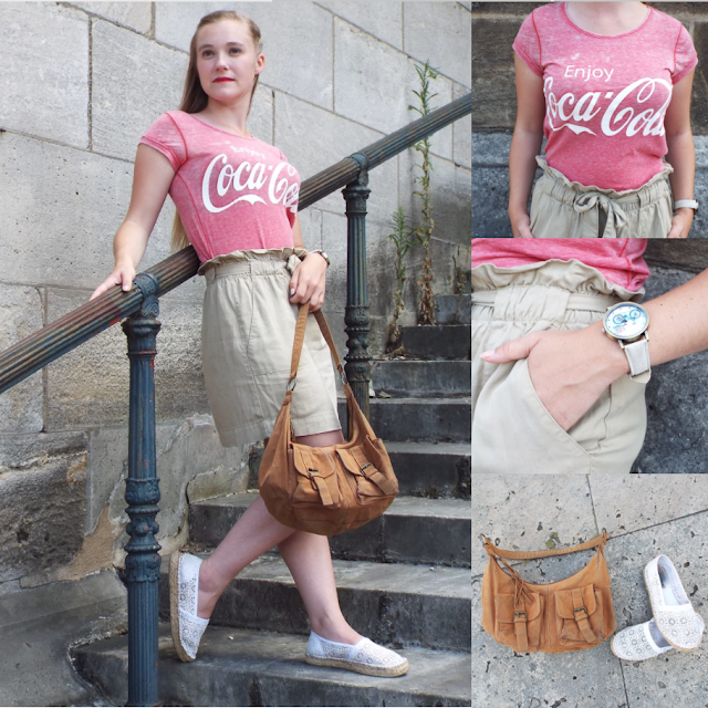 look femme casual