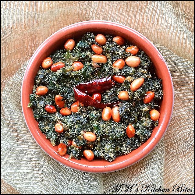 Bengali Spinach with Poppy seeds mmskitchenbites
