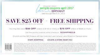Lane Bryant coupons for april 2017