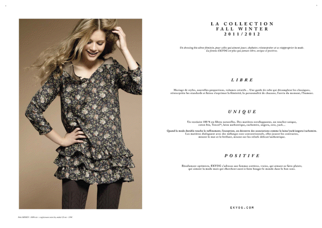 336fd4796c41e ... d'hiver mais je vous présente tout de même la collection automne-hiver  2011 de chez EKYOG (issu du lookbook de la marque). Des vêtements très  féminins ...