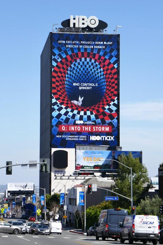 Giant Q Into the Storm docu-series billboard
