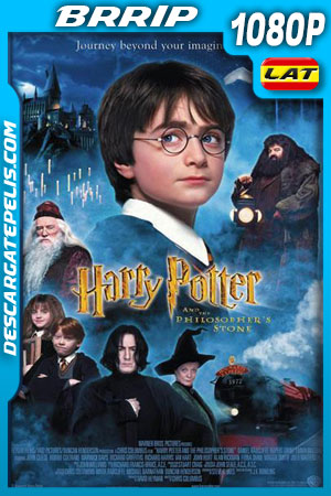 Harry Potter y la piedra filosofal (2001) 1080p BRrip Latino – Ingles