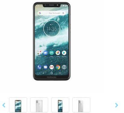 "Smartphone Motorola Moto One 64GB 4G Tela 5,9"""
