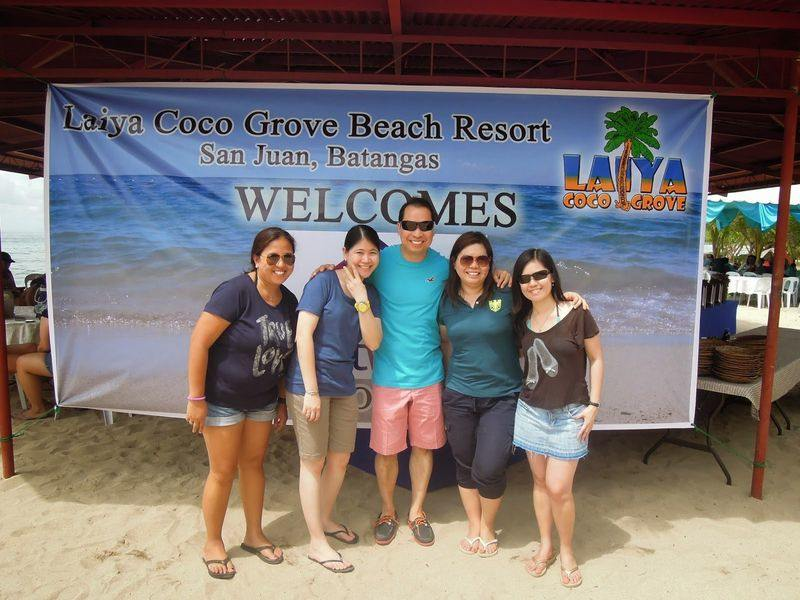 Arrival of guests at Laiya Coco Grove Beach Resort