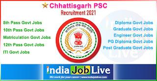 chhattisgarh-psc-recruitment-cgpsc-indiajoblive.com