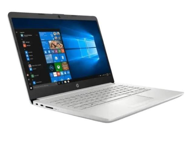 HP 14S DK1001AU, Laptop Murah untuk Pelajar Bertenaga AMD Athlon Silver 3050U