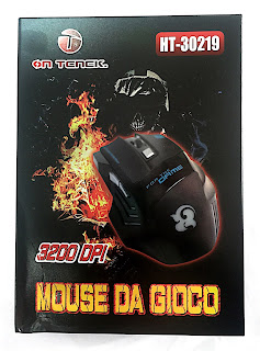 MOUSE GIOCO GAMING ON TENCK HT30219