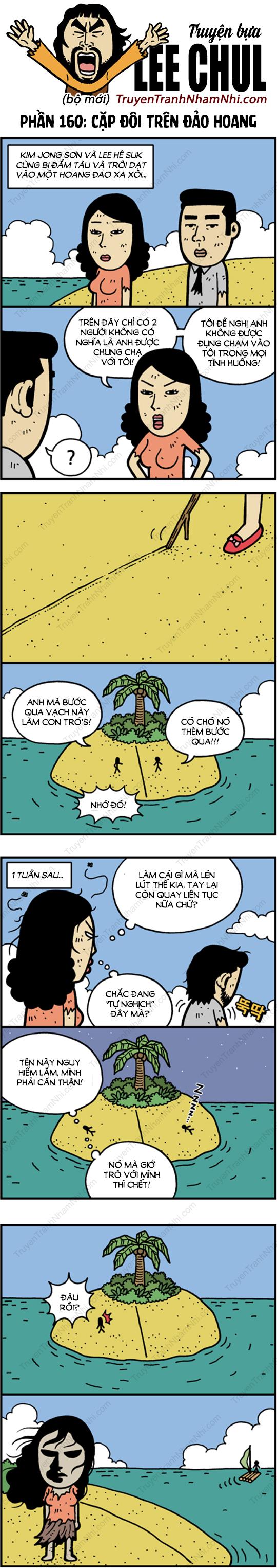 Lee Chul (bộ mới) phần 160: Cặp đôi trên đảo hoang