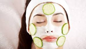 Home Made face pack for Glowing Skin and Instant Fairness with Lemon and cucumber