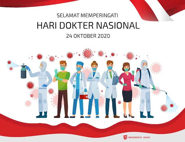 gambar ucapan selamat hari dokter nasional 2020