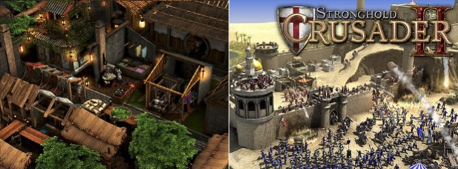 Stronghold Warlords vs Stronghold Crusader 2 Graphics