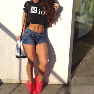 Female Fitness Inspirations Body Goals and Motivation #fitspo #denim #shorts #fitspiration #fitbody #bodygoals