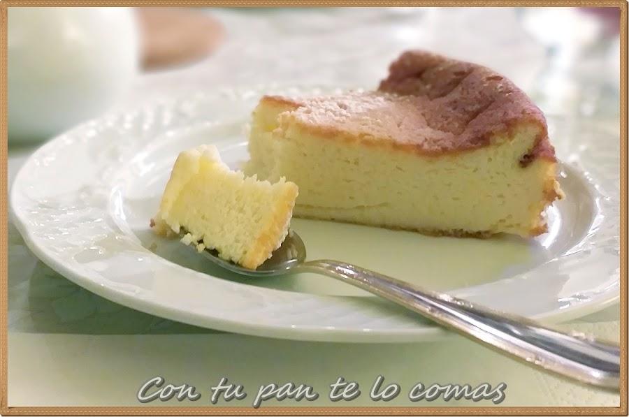Pastel de yogur griego