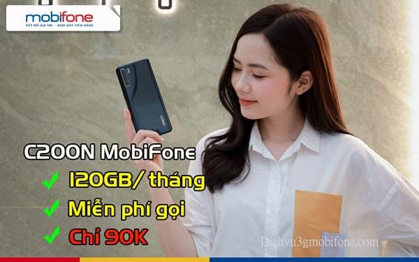 gói cước C200N mobifone