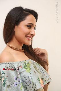 Actress Pragya Jaiswal Stills in Floral Dress at turodu Interview  0079.JPG