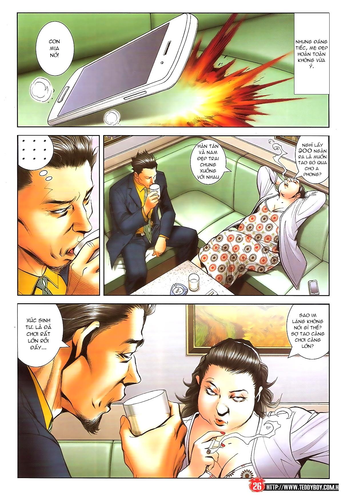Người Trong Giang Hồ chapter 1648: tự tìm đường chết trang 24