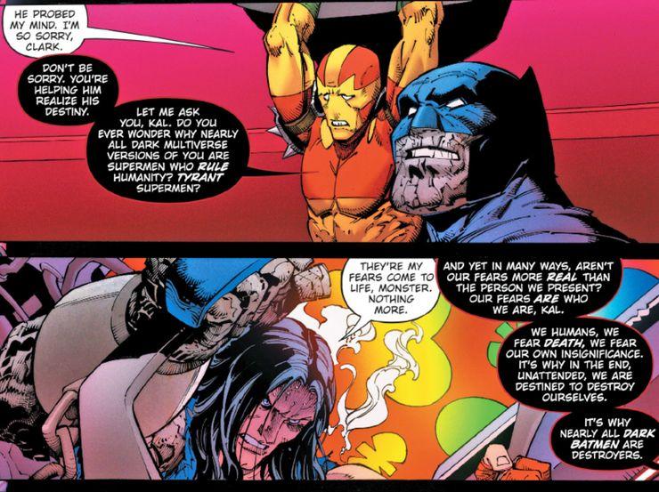 Death Metal: Un retorcido Batman diseña la manera definitiva de quebrar a Superman