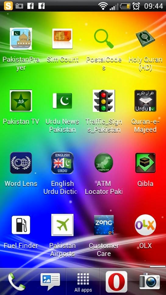 Android Apps in Pakistan