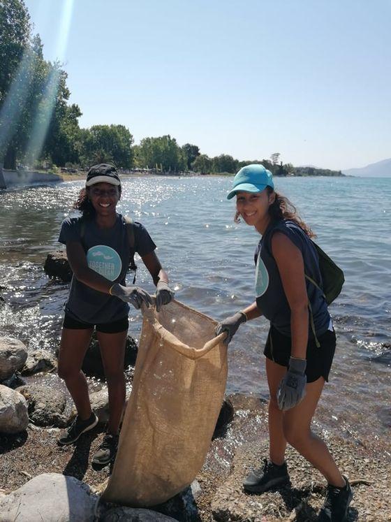 Με επιτυχία πραγματοποιήθηκε ο καθαρισμός παραλίας στον Καραβόμυλο!