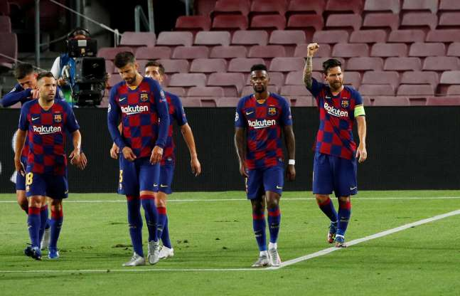 Barcelona confirm positive coronavirus test ahead of Champions League quarter-final