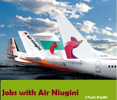 Jobs with Air Niugini