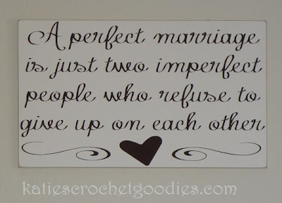 marriage quote sign