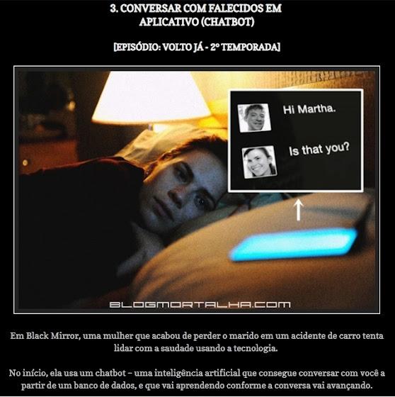 Inteligência Artificial através de chatbots para simular humanos