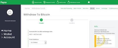 Comprar Bitcoins con Payza