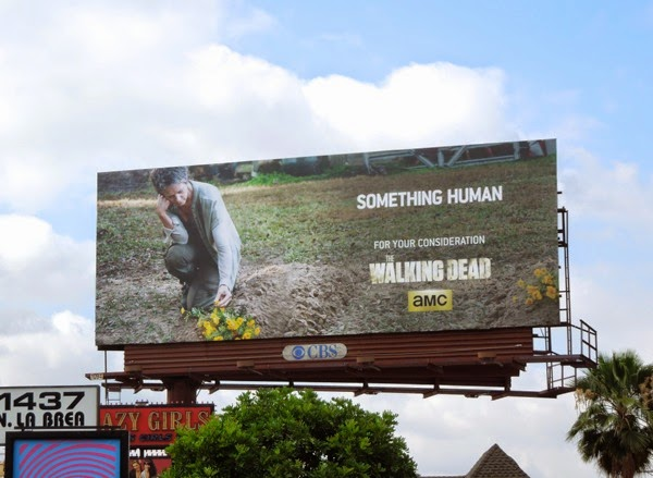 Walking Dead Something Human Carol Emmy 2014 billboard