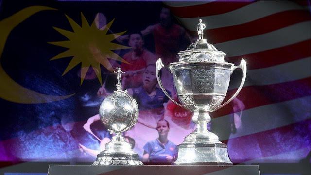 Jadual Penuh Siaran Langsung Piala Thomas & Piala Uber 2021