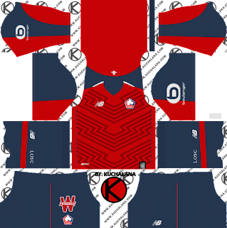 and the package includes complete with home kits Baru!!! LOSC 2018/19 Kit - Dream League Soccer Kits