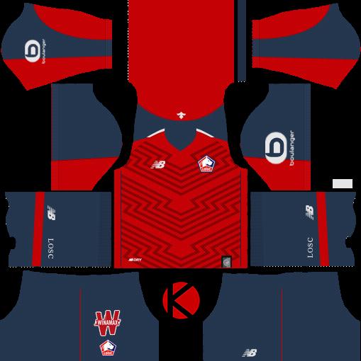 LOSC 2018/19 Kit - Dream League Soccer Kits