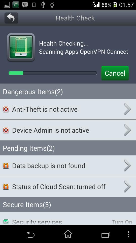 Comodo Mobile Security Terbaru