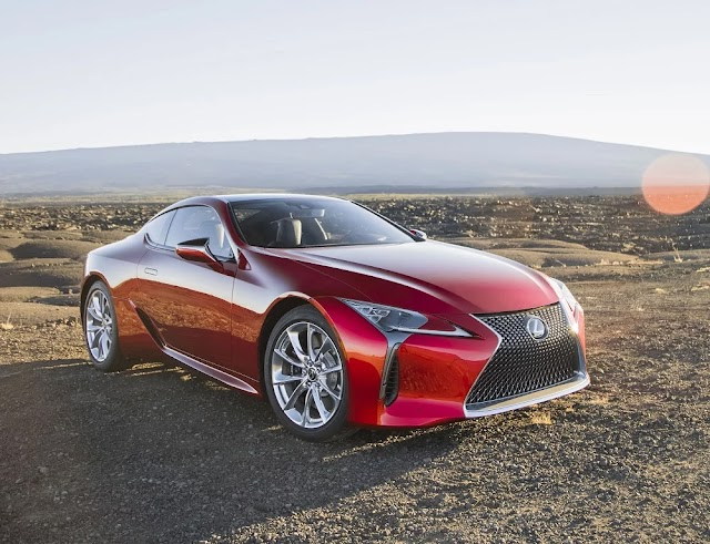 Scoop! 600-HP Lexus LC F Coming This Fall