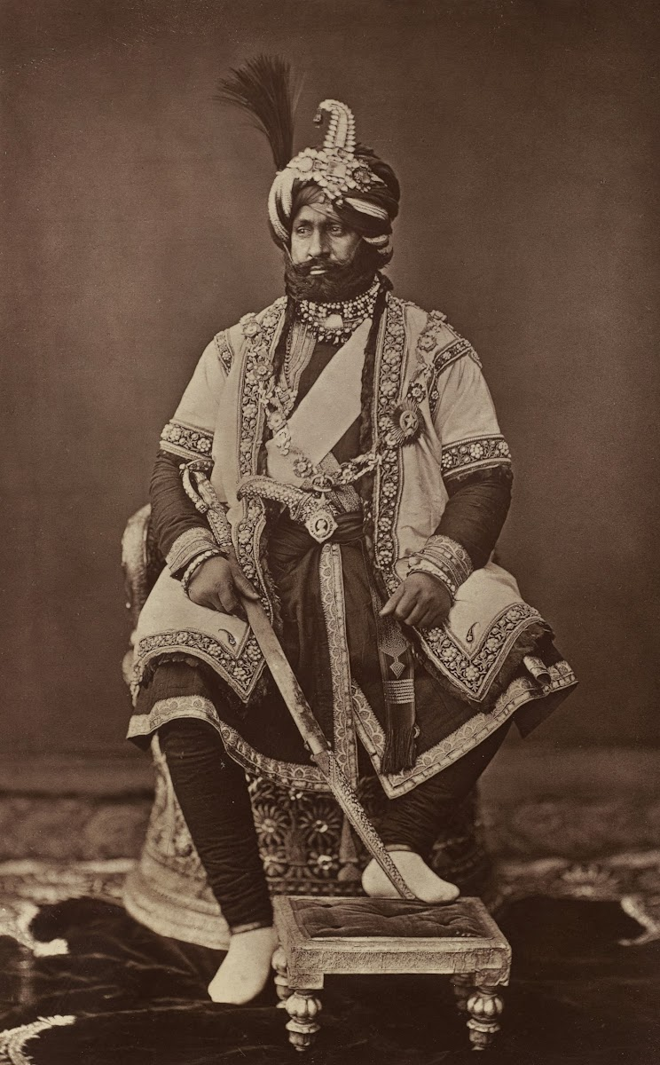 Maharaja of Jammu and Kashmir Ranbir Singh - 1877