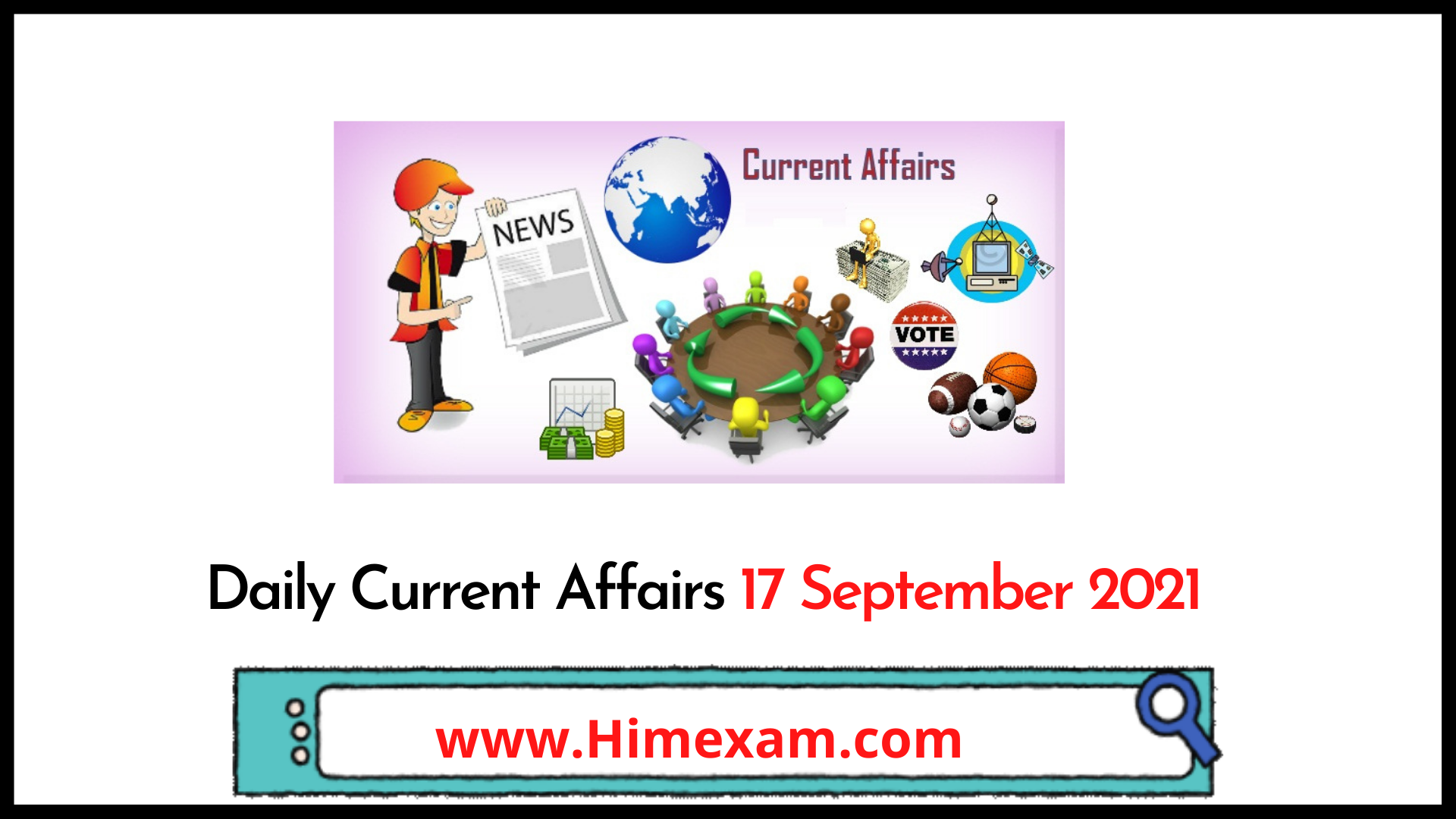 Daily Current Affairs 17 September 2021