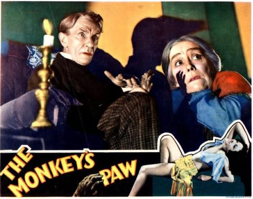 Lobby card, The Monkey's Paw, 1933
